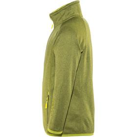 Meru Cannes Fleece Jacket Kids lime